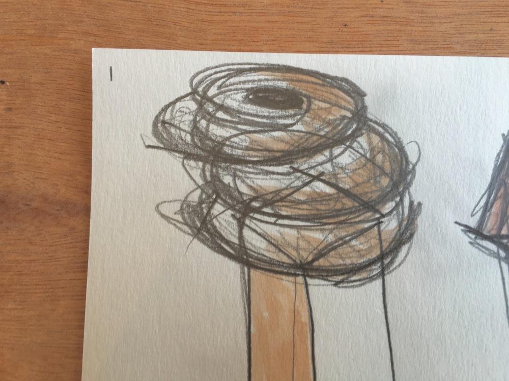 sketch sandra