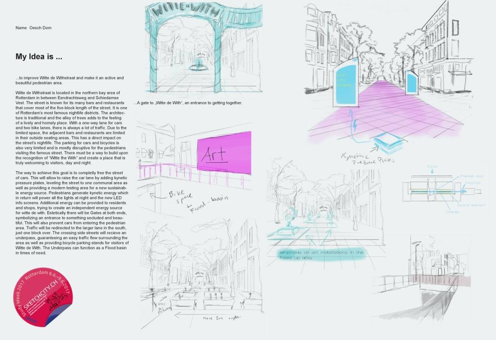 Sample idea sketch from Dominique.
