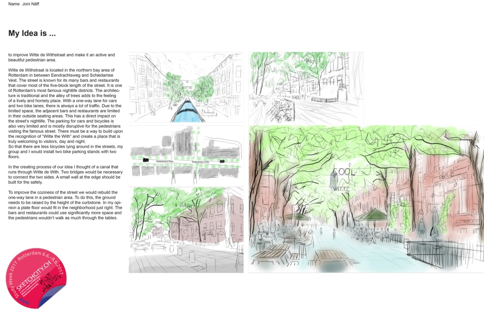Sample idea sketch from Jon Andri.